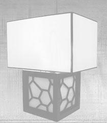 Silk lamp